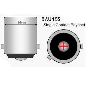 BAU15S Bajonet LED Lampfitting auto camper caravan bootverlichting zelfvoorzienend ODF LED Lighting