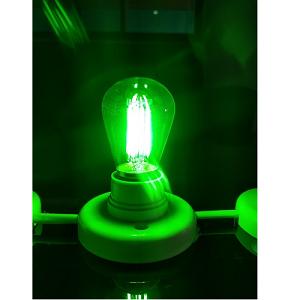 Groene LED Lichtbronnen 24V 12V B22D BA22 Bayonet LED Bulb Green LED lighting