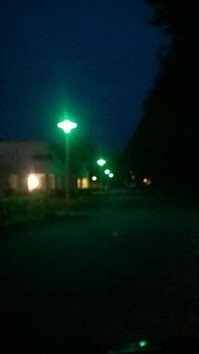 Groene LED Verlichting Lampen Dimmen 12V 24V E27 LED lichtbronnen lampen