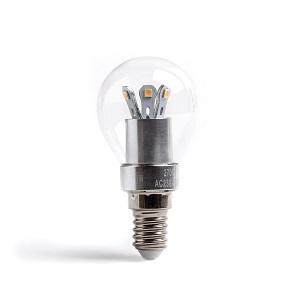 E14 kleine gloeilamp lichtbron vervangen door LED lamp E14 klene lampfitting