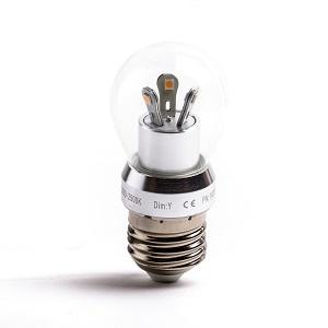 Kogellampen vervangen door LED lampen grote E27mm lampfitting