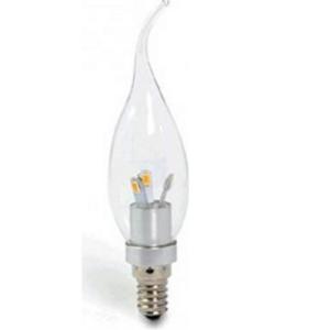 E14 LED Lamp Lichtbon Tipkaars 2000K 2200K 2500K Dimmen