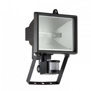 Breedstraler, verstraler, bewegingsmelder GROEN, LED Vervangbaar, Schijnwerper LED, preventie led verlichting ODF LED