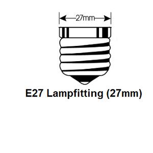 E27 led lampfiting