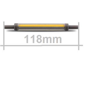 110V LED lamp R7S118 110V LED ultra dun2700kelvin warm licht dimmen lengte 118mm
